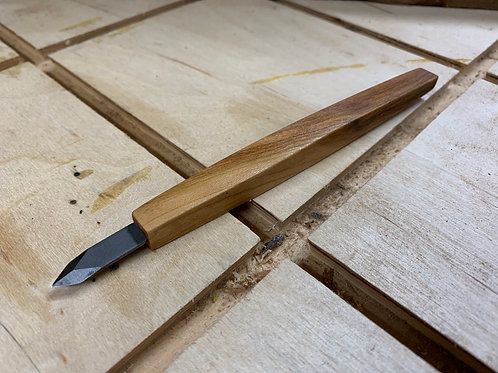 Cherry woodworking marking tool