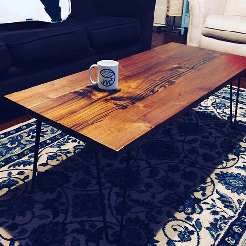 Walnut Table custom made for a customer