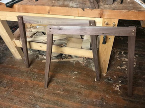 Got the joinery for the Walnut Legs almo