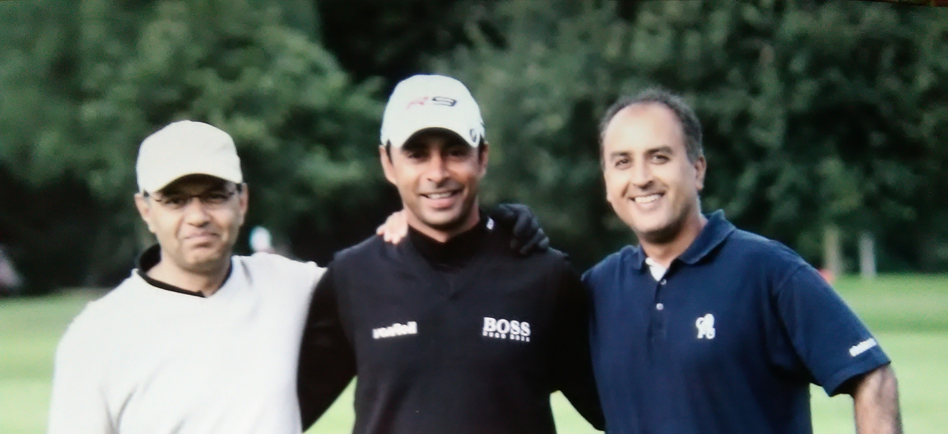 Tour Pro Jyoti Randhawa playing at Perivale Park Golf Course