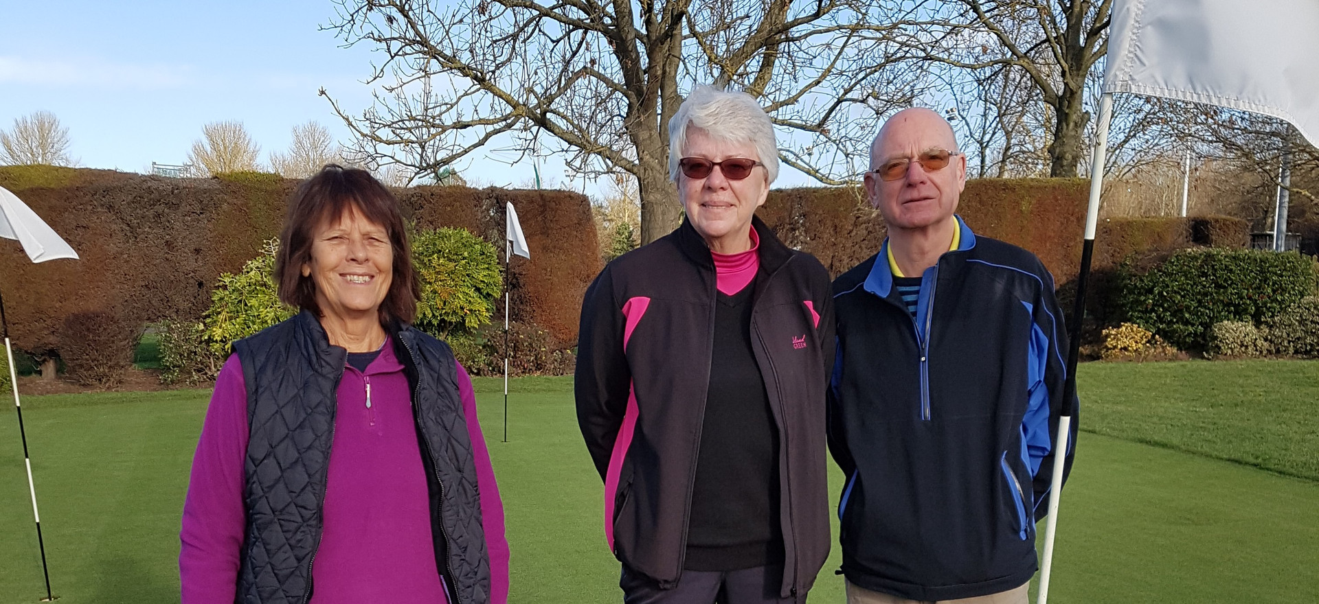 Perivale Park Golf Course Professional with Lady Members