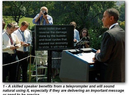 The Teleprompter - Friend or Foe?