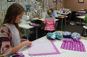 Spring Break Sewing Camp!