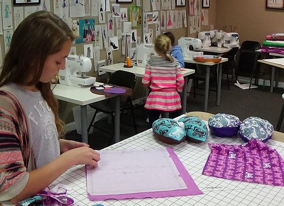 Spring Break Sewing Camp!