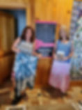 me and karen skirts.jpg