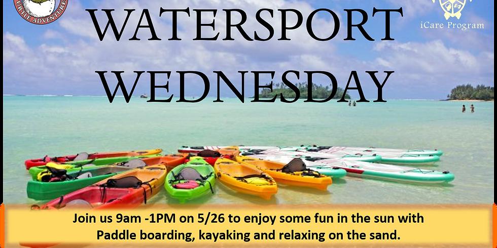 Watersport Wednesday!