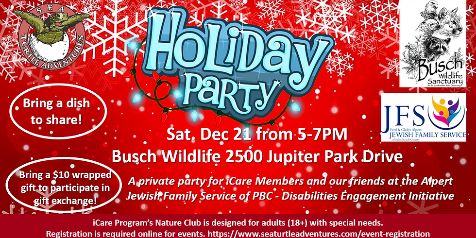 Holiday Party at Busch Wildlife