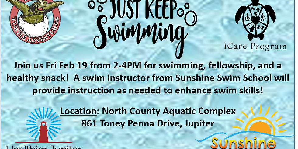 Just Keep Swimming! February Event