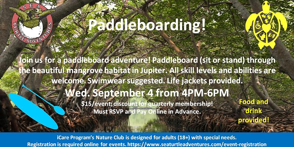 Paddleboarding!