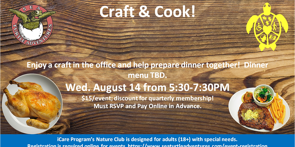 Craft and Cook!