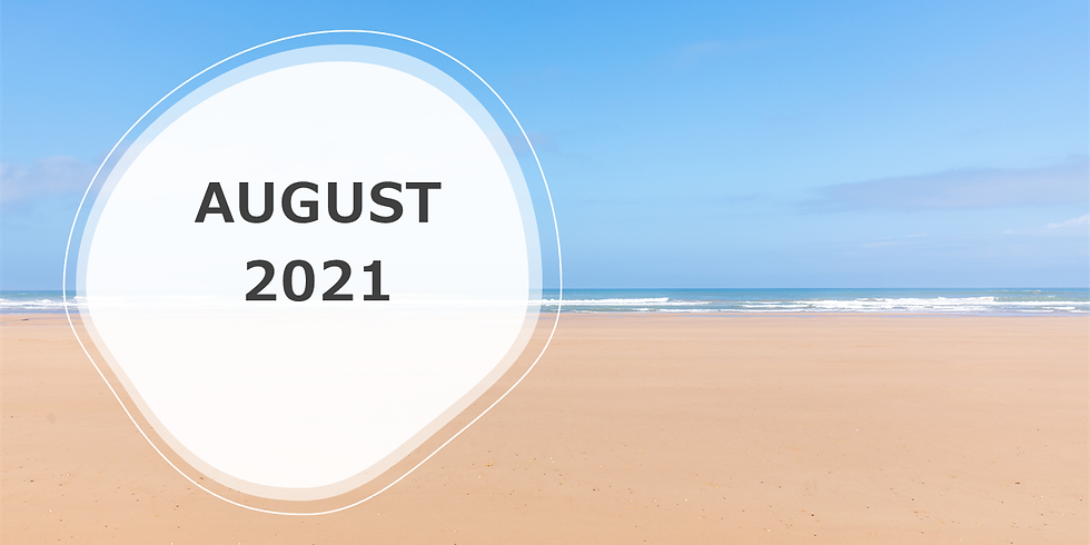 August 2021 iCare Events!