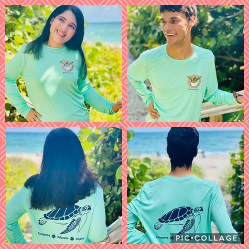 Long Sleeve SPF Sea Turtle T-Shirt (various colors)