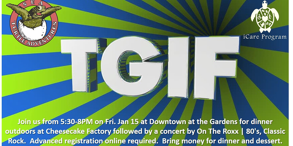 TGIF: Dinner and Concert Downtown