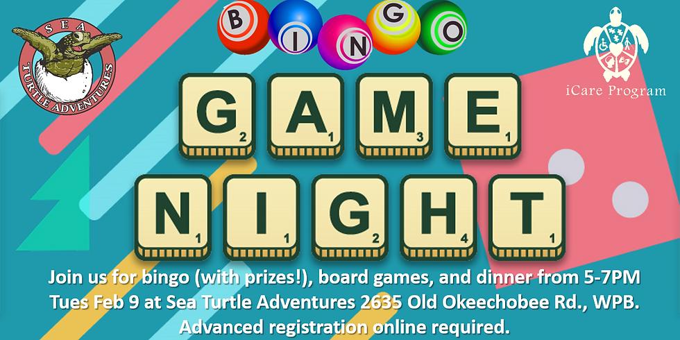 Bingo/Game Night!