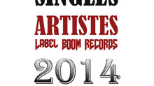 Singles Artistes Label Boom Records 2014