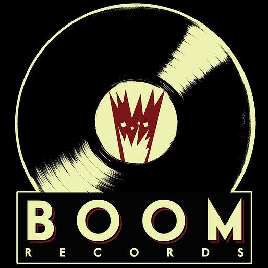 Logo Officiel du Label Boom reords