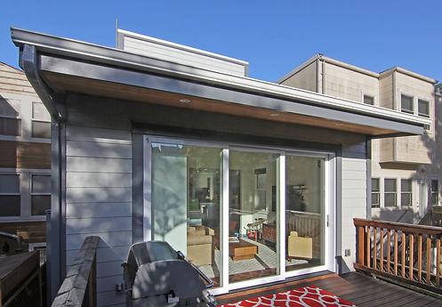 An exterior deck project, Hammerhouse Construction