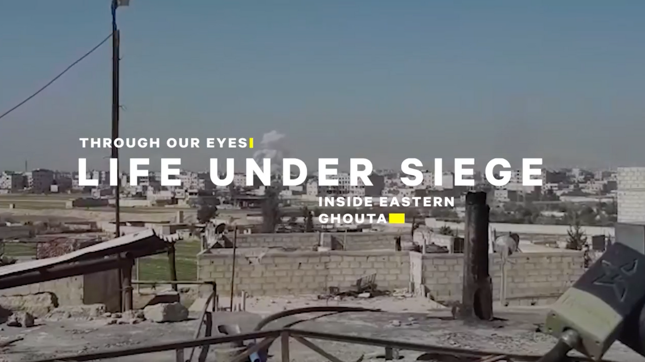 Life Under Siege- Inside the Syrian Civi