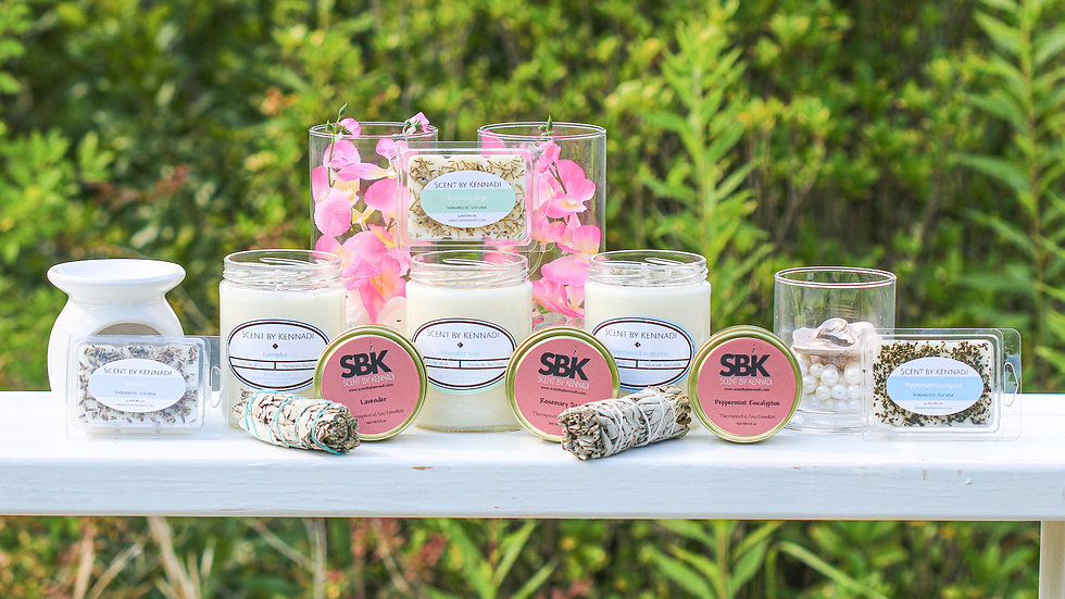 Therapeutic Soy Candles