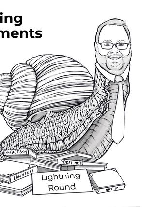 Opening Arguments - Lightning Round