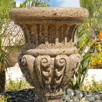 Landscape Pot Fountain with Underground Basin