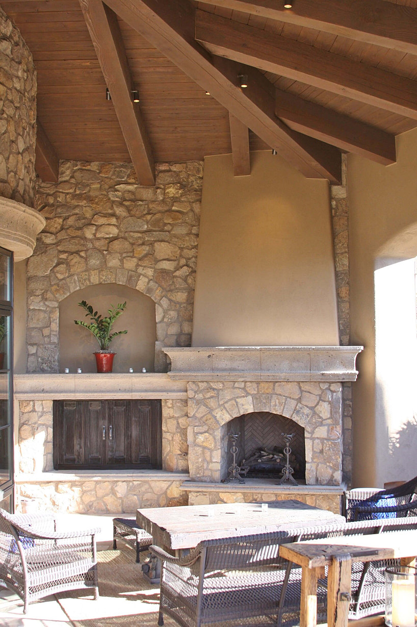 stone source featured project rustic luxury