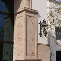 Commercial Stone Entryway Surround