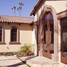 Traditional Spanish Hacienda Entryway Surround