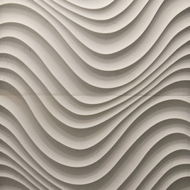 3D Stone Wall Art - Swirl