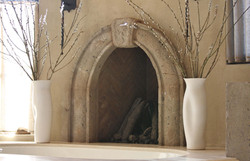 5-Master-Bathroom-Fireplace-Surround-Moulding-at-Tub-in-Tobacco-Cantera-Stone-with-Distressed-Finish