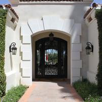 Modern Stone Entryway Surround