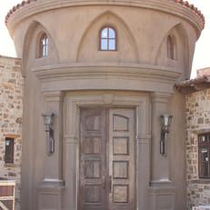 Old World Radius Entryway Surround
