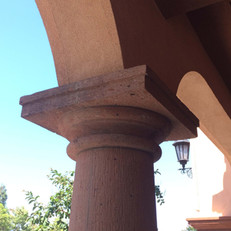 Doric Stone Tapered Columns
