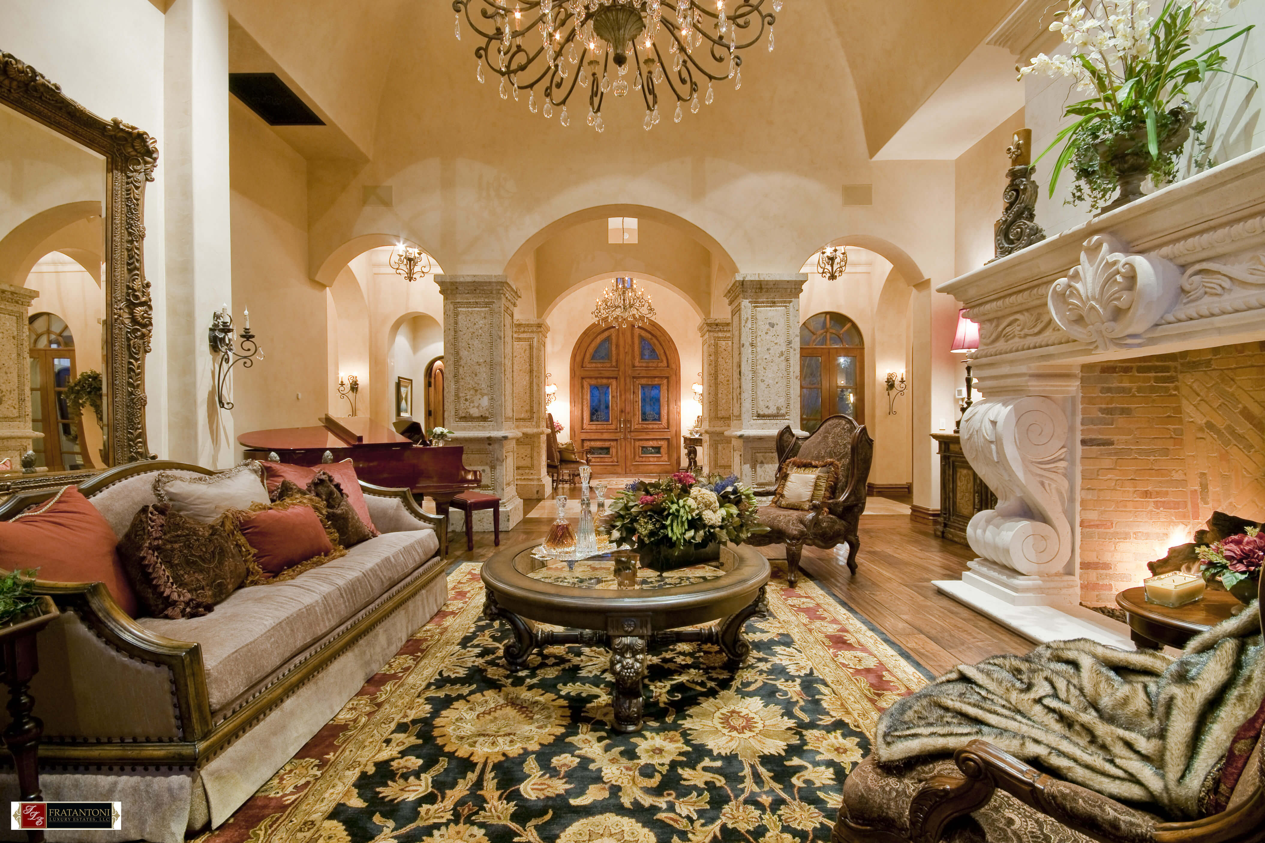 5B-Living-Room-with-Classic-European-Fireplace-Surround