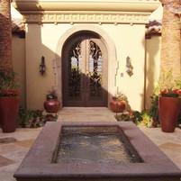Courtyard Fountain Basin