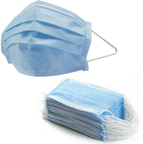 Disposable Face Mask - 50 pack