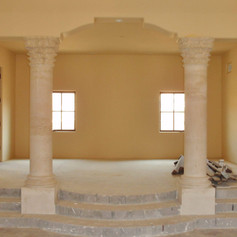 Corinthian Travertine Columns