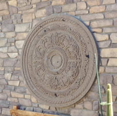 Stone Wall Medallion
