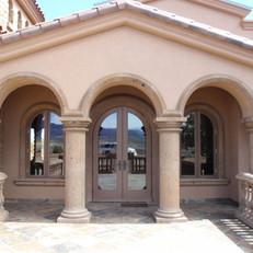 Doric Stone Columns