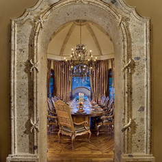 Dining Room Door Surround