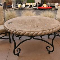 Stone Patio Table
