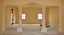 2-Corinthian-Capital-Columns-with-Smooth-Shafts-in-Riviera-Beige-Limestone