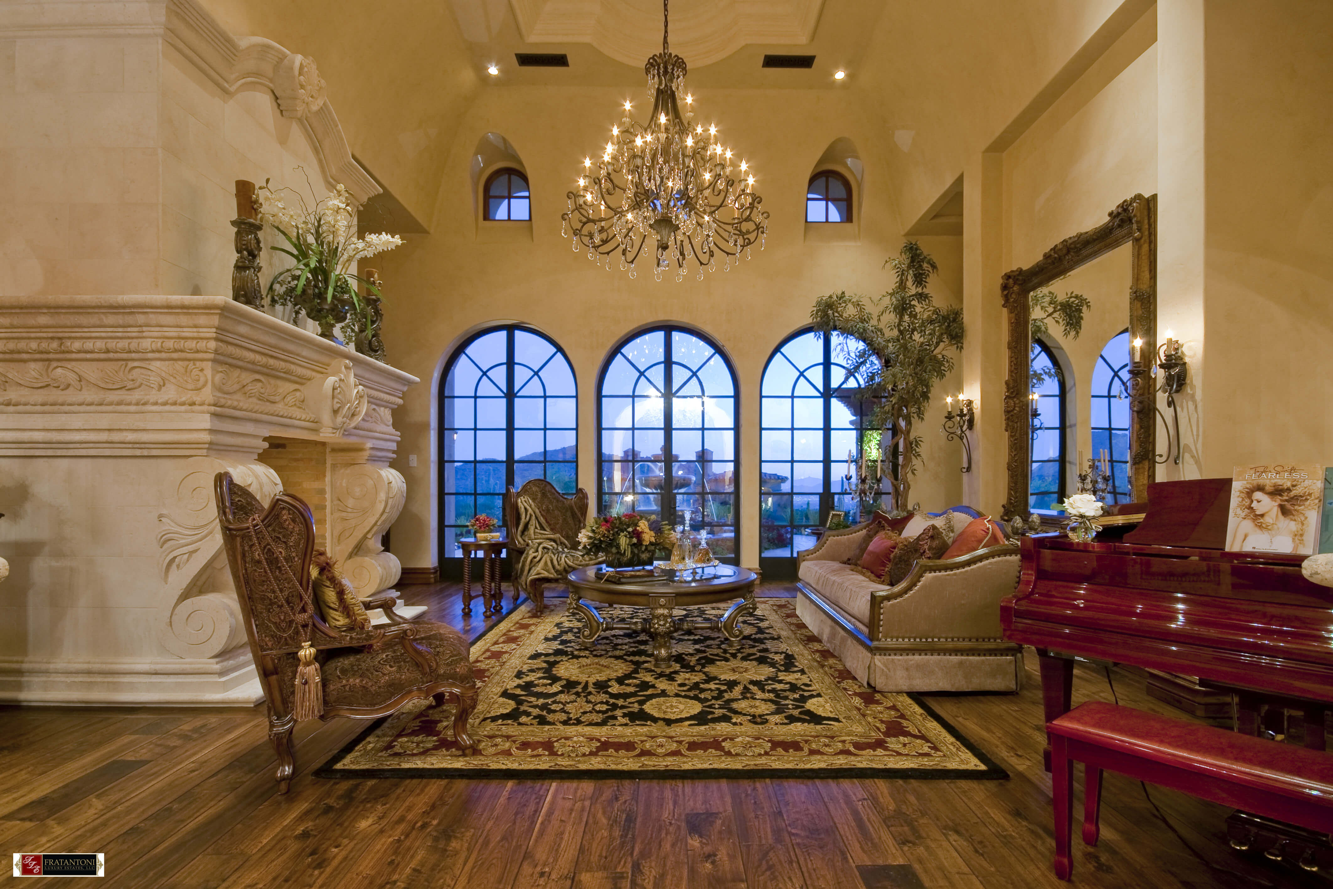 8-Living-Room-with-Classic-European-Fireplace-Surround