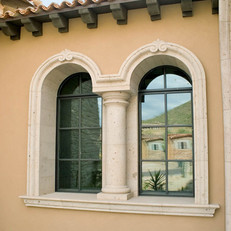 Tuscan Style Arched Window Surround