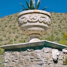 Landscape Pot in Cantera Stone