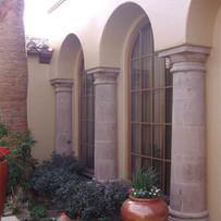 Tuscan Tapered Stone Columns