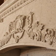 Close Up View of Carving Detail