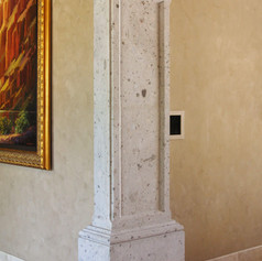 Paneled Column / Pilaster