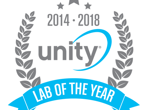 GSRx Named Unity Lab of the Year!