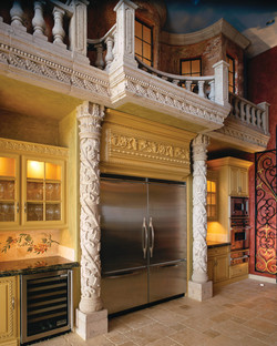 4-Grape-Vine-Columns-with-Balustrade-System-in-Stone